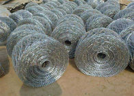 kualitas baik Hardware Wire Mesh & Concertina Razor Spiral Security Barbed Wire Barrier Off Road Flat Wrap Dijual